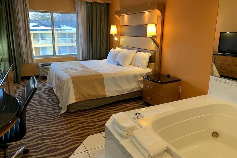 Numeris, 1 labai didelė dvigulė lova, Nerūkantiesiems - Svečių kambarys