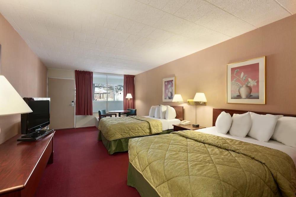Стандартний номер, 2 двоспальних ліжка, різноманітні краєвиди (Two Double Bed Non Smoking Room) - Житлова площа