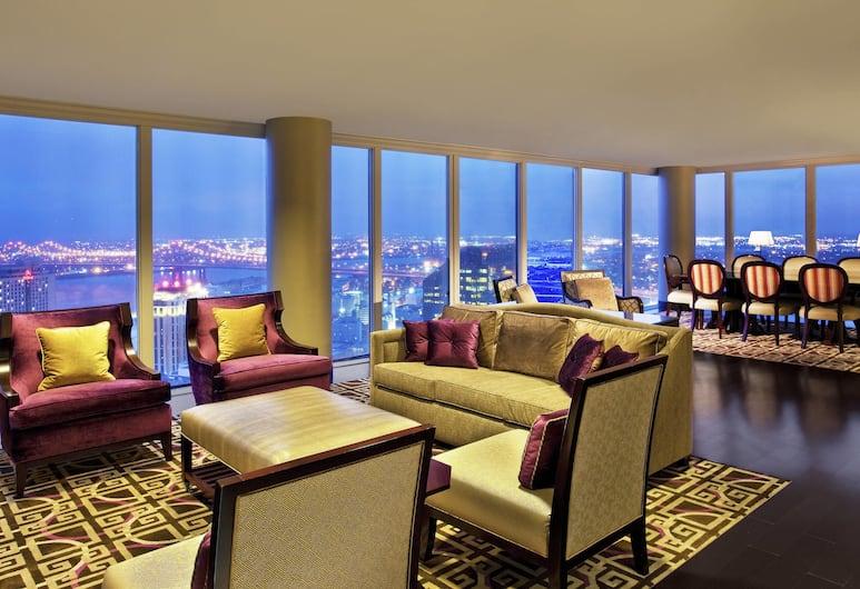 Sheraton New Orleans Hotel, New Orleans, Presidential-Suite, 1King-Bett und Schlafsofa, Nichtraucher, Zimmer