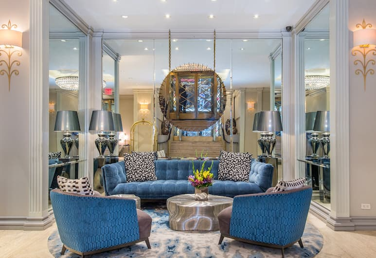 The Lombardy Hotel, New York, Lobby Sitting Area