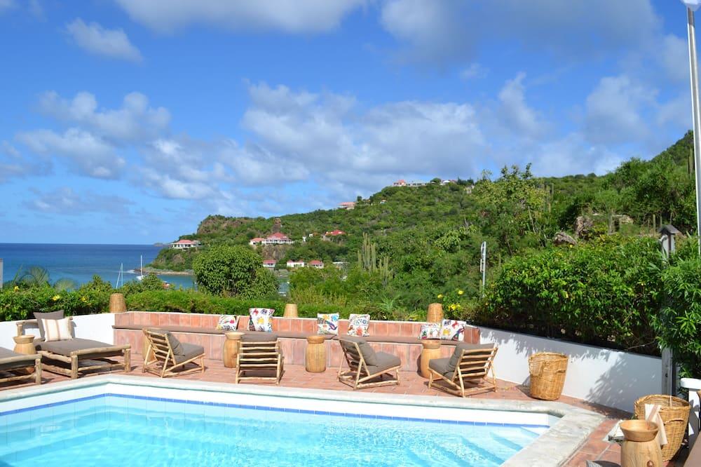 Executive suite, 1 spavaća soba, pogled na bazen - Soba za goste