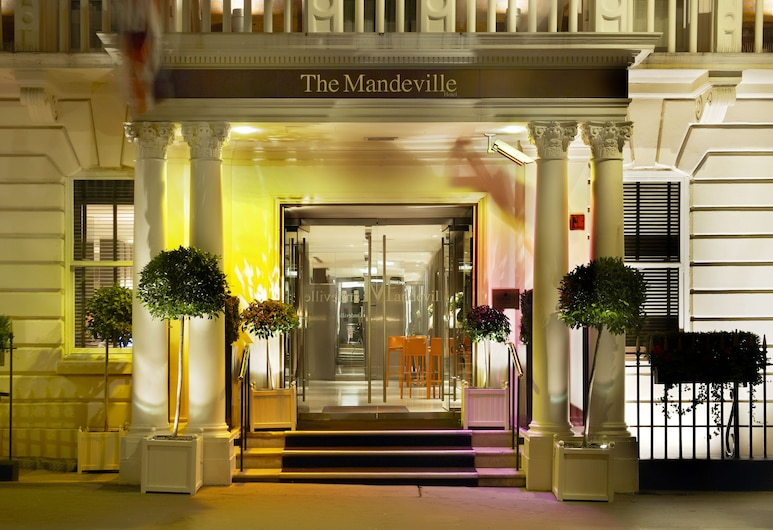 The Mandeville Hotel, London, Hotel Front – Evening/Night