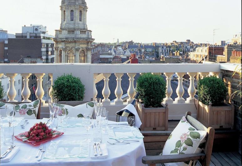 The Mandeville Hotel, Londen, Suite, terras, Terras