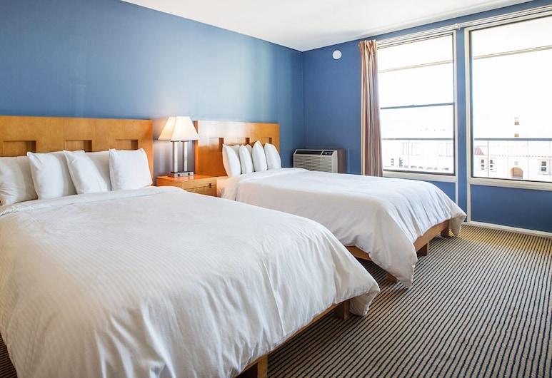月神 C-Two 酒店, 三藩市, 豪華客房, 2 張加大雙人床, 雪櫃, 客房