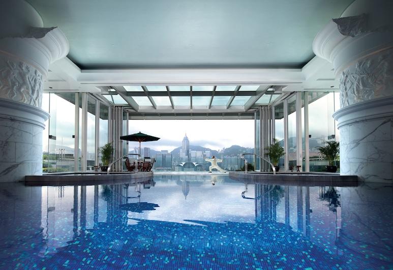 香港半島酒店, 九龍, 豪華客房, 1 張特大雙人床, 泳池