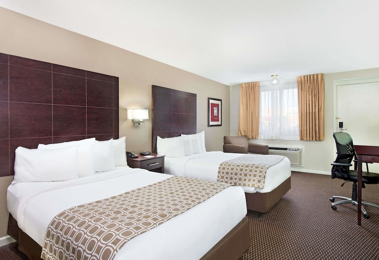 Baymont by Wyndham Sandusky, סנדוסקי, חדר, 2 מיטות זוגיות, ללא עישון, חדר אורחים