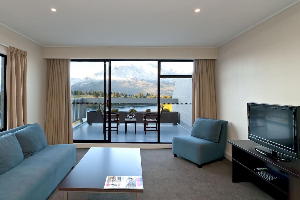 Appartement, 2 slaapkamers (Breakfast Included) - Woonruimte