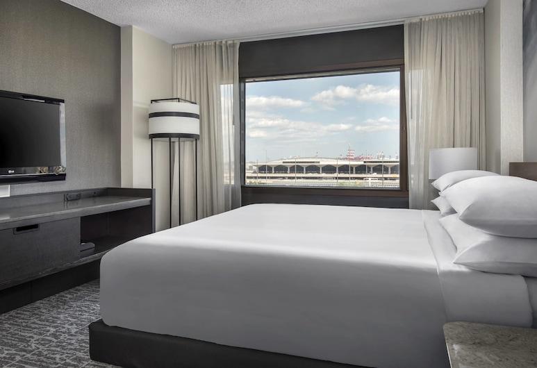 Newark Liberty International Airport Marriott, Newark, Concierge Room, Room, 1 King Bed, Non Smoking, Guest Room