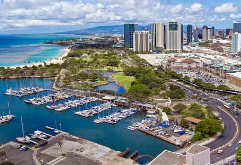 Marina Tower Waikiki, Honolulú, Vista desde el hotel