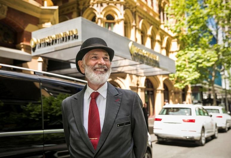 InterContinental Melbourne The Rialto, Melbourne, Fachada