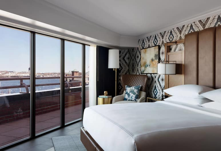 Boston Marriott Long Wharf, Boston, Guest Room