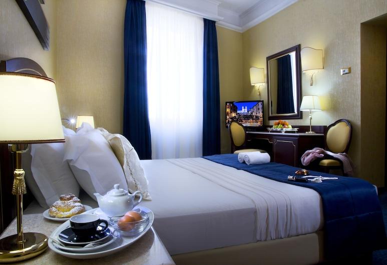 Hotel Mondial, רומא, חדר זוגי, חדר אורחים