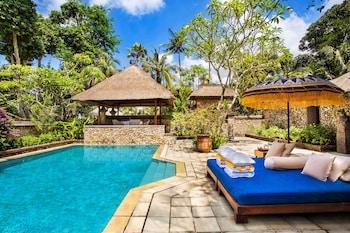 在水明漾的巴厘岛岛欧贝罗伊酒店照片