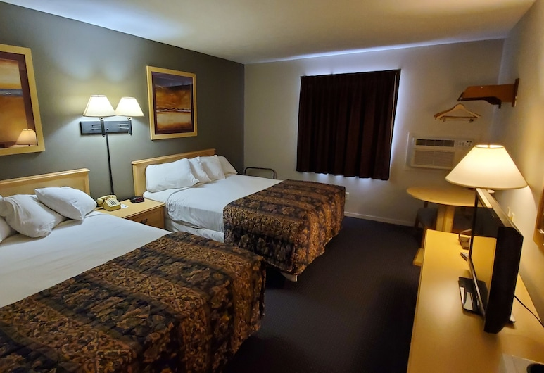 Cottonwood Inn and Conference Center, South Sioux City, Kamar Basic, 2 Tempat Tidur Queen, Kamar Tamu
