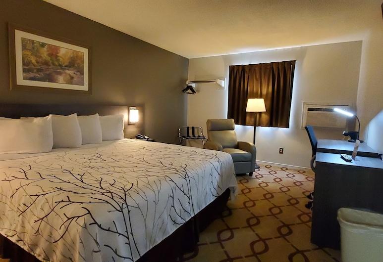Cottonwood Inn and Conference Center, Сиу-Сити — юг, Одноместный бизнес-номер, 1 двуспальная кровать «Кинг-сайз», Номер