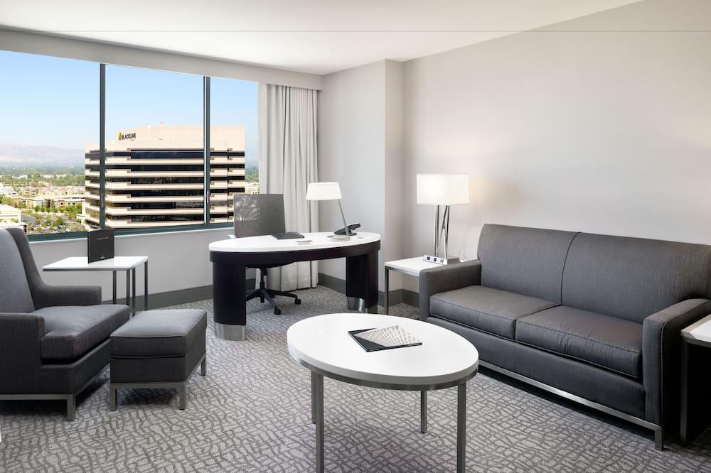Executive lakosztály, 1 hálószobával, executive szint - Vendégszoba