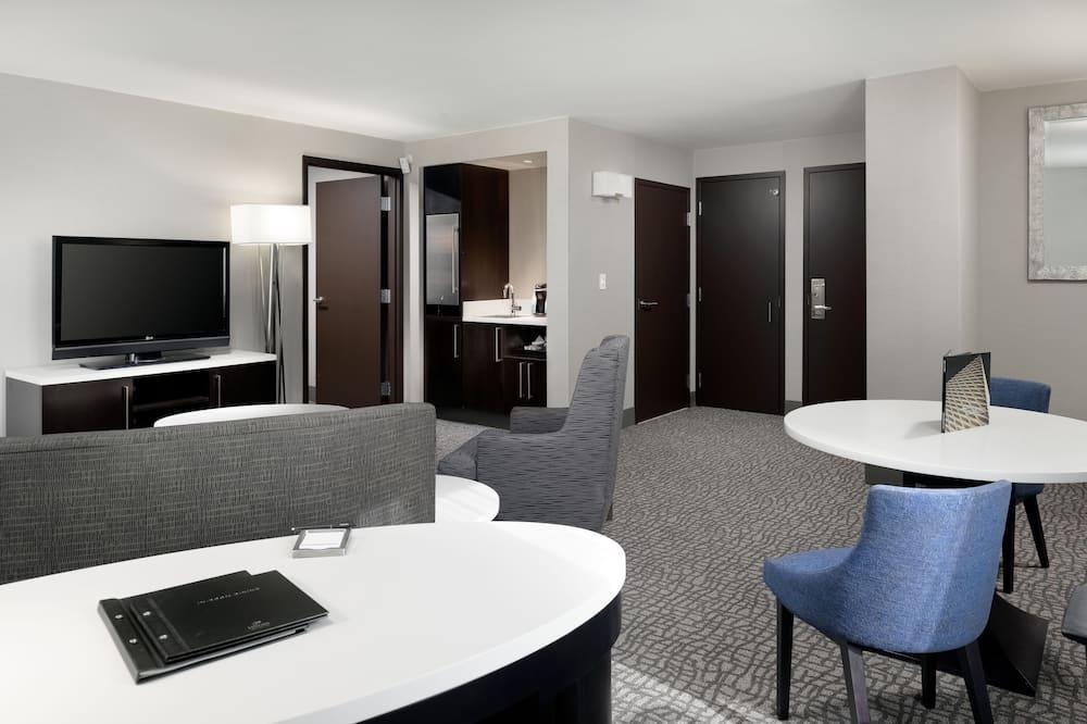Executive lakosztály, 1 hálószobával, sarok - Nappali rész
