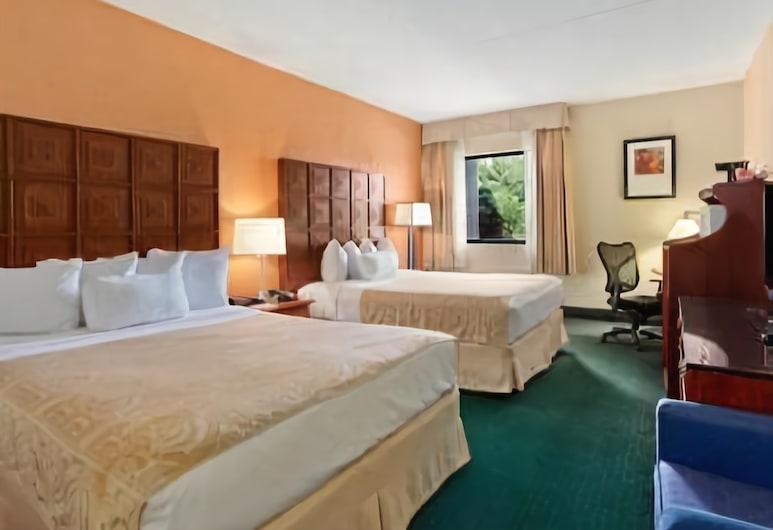 Ramada by Wyndham Columbus North, Columbus, Pokój, 2 łóżka queen, dla niepalących, lodówka i kuchenka mikrofalowa, Pokój