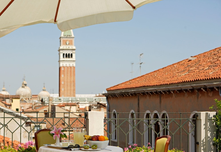 Kette Hotel, Venice, View from Hotel