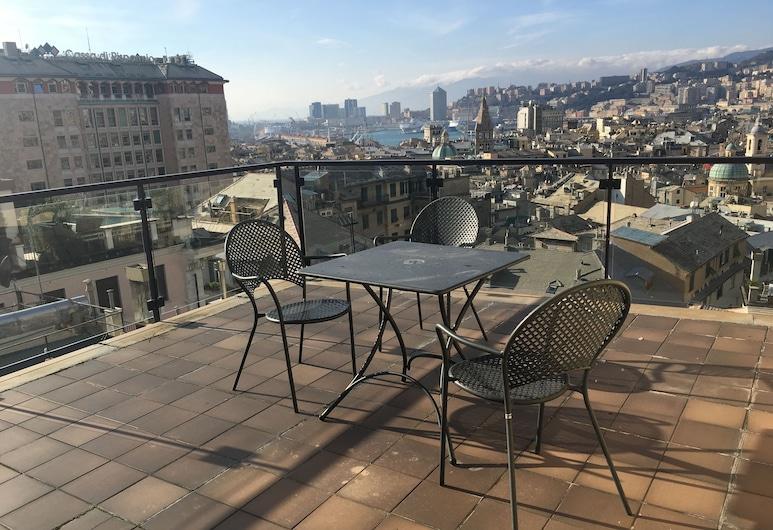 Best Western Plus City Hotel, Genoa, Standard Room, 1 King Bed, Terrace, City View, Terrace/Patio