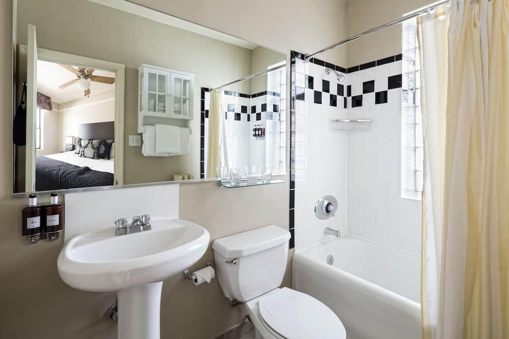 行政客房, 1 張特大雙人床 - 浴室