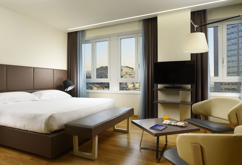 UNAHOTELS Century Milano, Mílanó, Junior Suite Superior Single Use, Herbergi