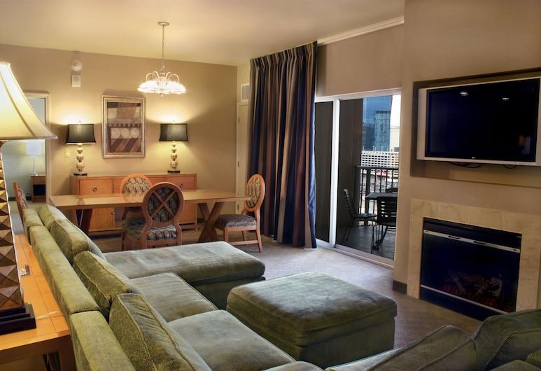 Platinum Hotel, Las Vegas, Marquise Suite Strip View, Living Area