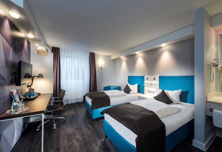 Best Western Hotel Cologne Airport Troisdorf, Troisdorf, Standard Oda, 2 Tek Kişilik Yatak, Oda