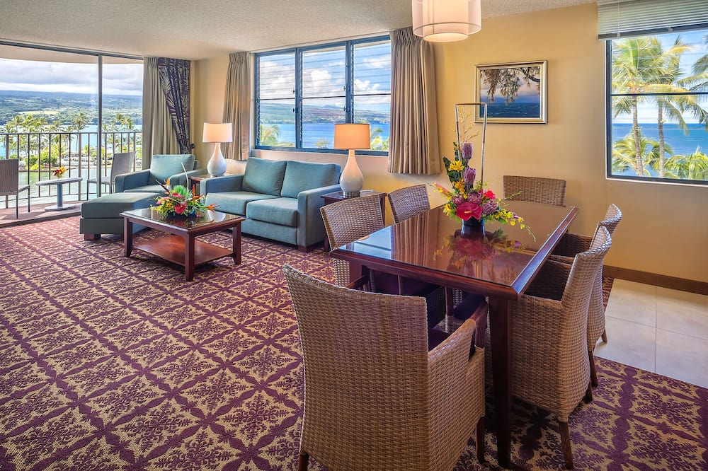 Suite, 1 Quarto, Vista Oceano - Sala de Estar