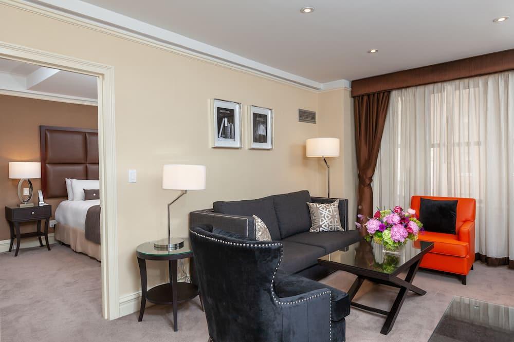 Люкс, 1 спальня - Гостиная