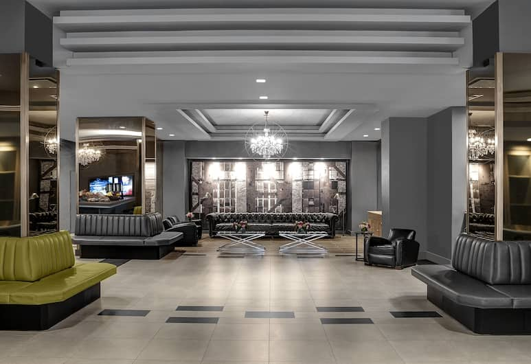 The Manhattan at Times Square Hotel, New York, Lobby Sitting Area