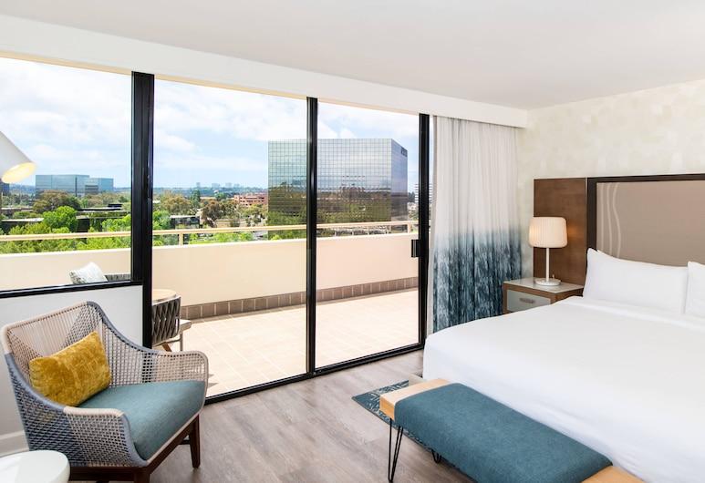 Renaissance Newport Beach Hotel, Newport Beach, Executive Süit, 1 En Büyük (King) Boy Yatak, Sigara İçilmez, Balkon, Oda Manzarası