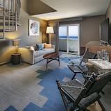 Suite, 1 très grand lit (KING LOFT SUITE) - Salle de séjour