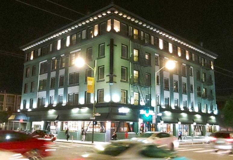古德飯店, 舊金山, 飯店入口 - 夜景