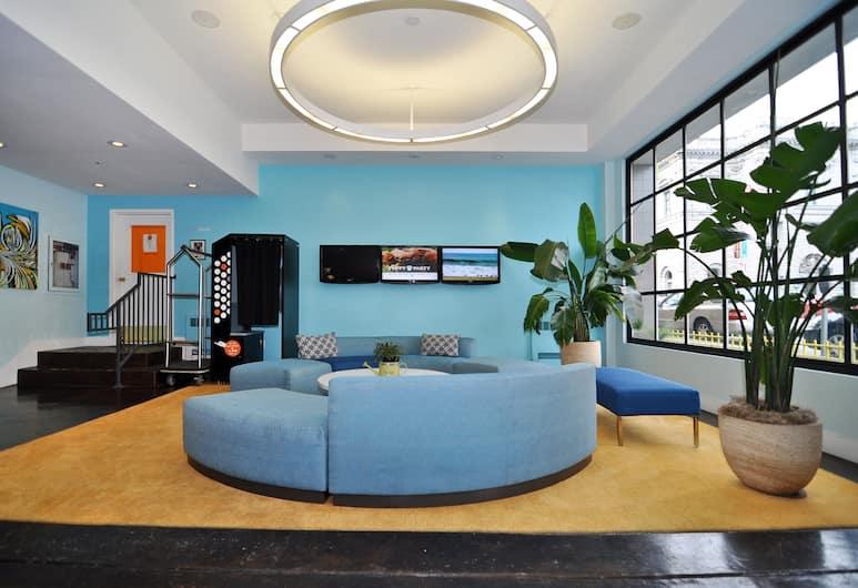 古德飯店, 舊金山, 大廳休息區