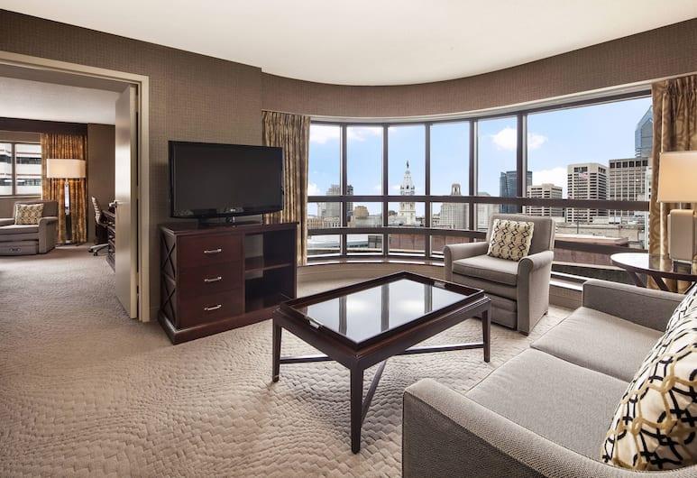 費城 201 號酒店, 費城, 套房, 1 張特大雙人床, 轉角, 客房