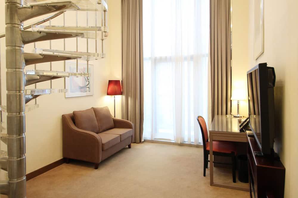 Deluxe Süit, Balkon, Şehir Manzaralı (Suite) - Oturma Alanı