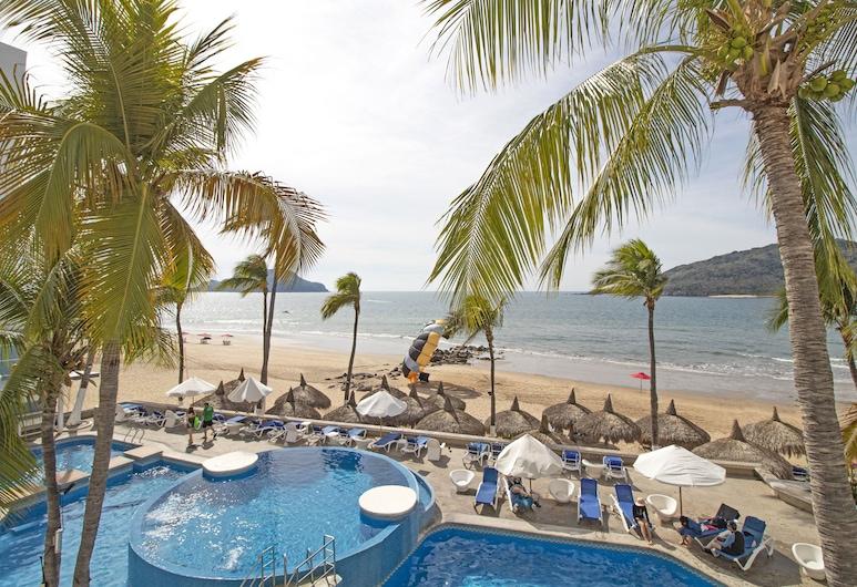 Oceano Palace Beach Hotel, Mazatlán, Playa