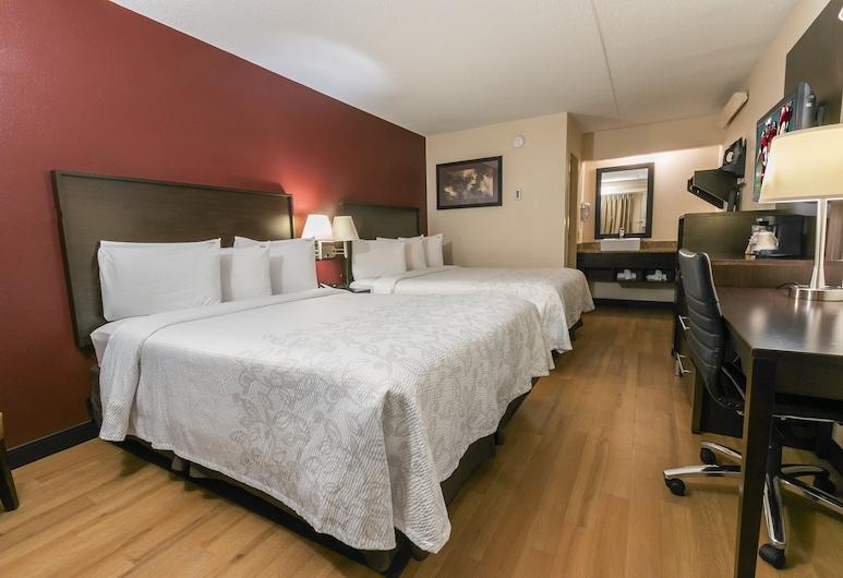 Red Roof Inn PLUS+ Wilmington - Newark, Newark, Pokój Deluxe, 2 łóżka podwójne (Smoke Free), Pokój
