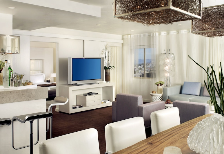 The Huntley Hotel, Santa Monica, Presidential Suite, Living Area