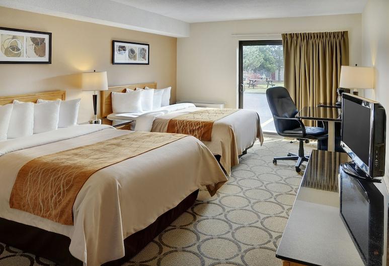 Comfort Inn Kenora, Kenora, Quarto Standard, 2 camas de casal, Não-fumadores, Rés-do-chão, Quarto