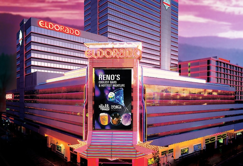 Eldorado Resort Casino at THE ROW, Reno, Hotel Front