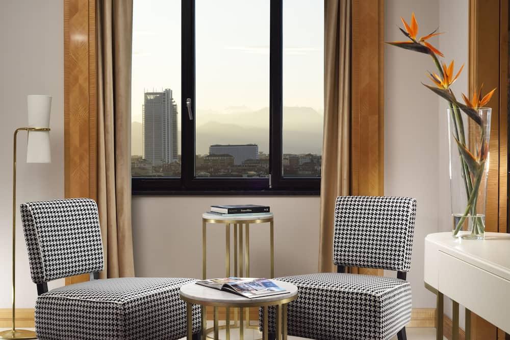 Suite – president - Utsikt mot byen