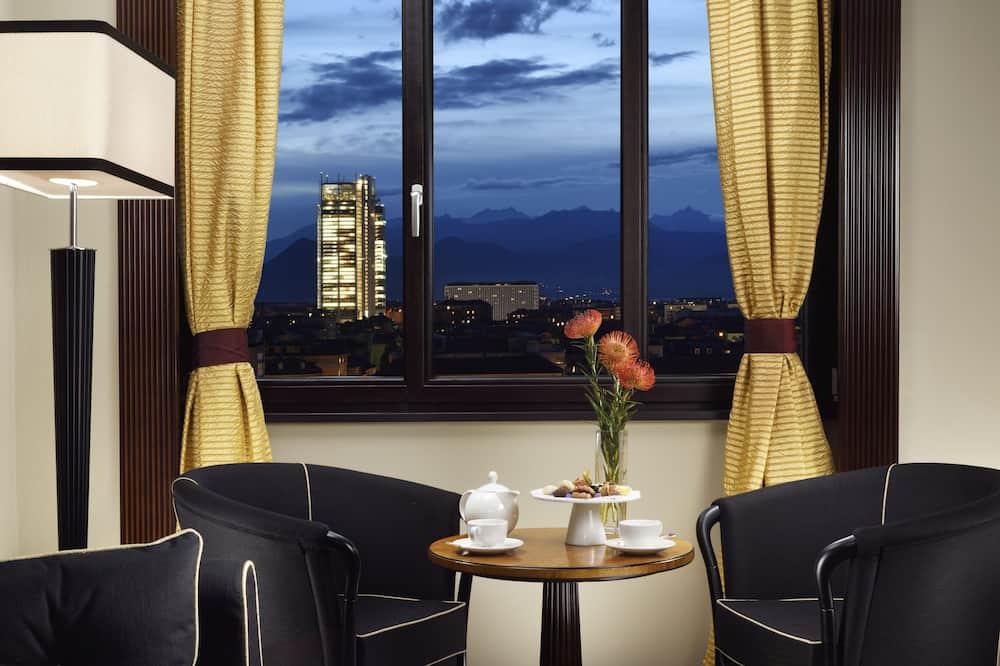 Suite – junior, utsikt mot byen - Utsikt fra gjesterommet