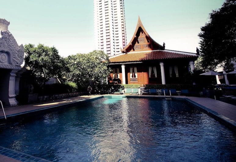 因地亞麗晶酒店, 曼谷, 室外泳池