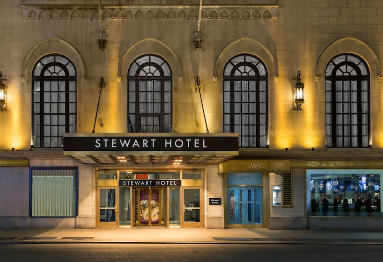 斯圖爾特飯店, 紐約