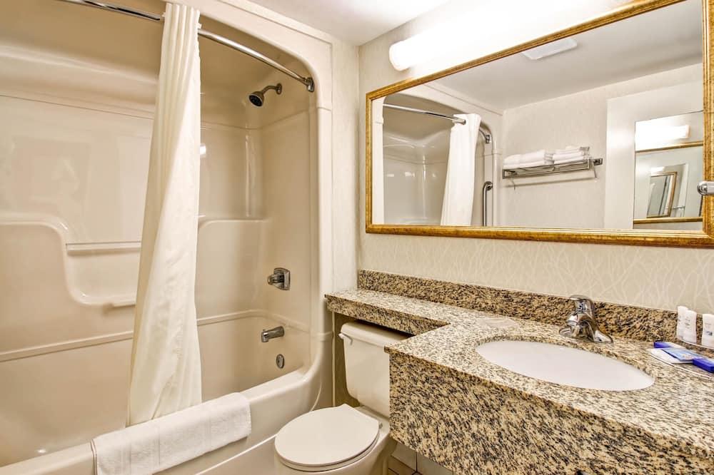 Standard King Non Smoking 1 person Sofa bed - Bathroom