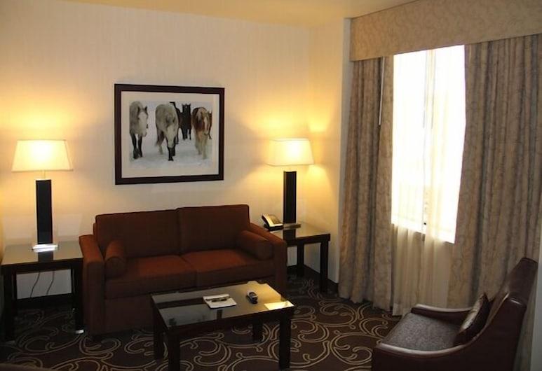 Northern Hotel, Billings, Classic-Suite, 1King-Bett, Wohnzimmer