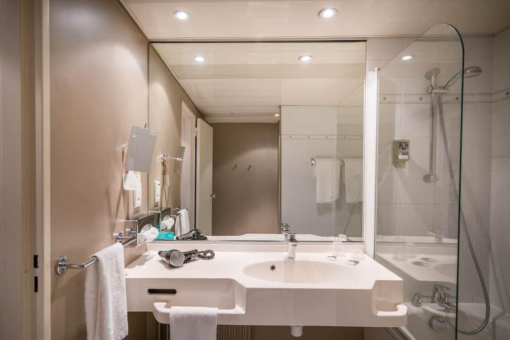 Classic-dobbeltværelse - 1 dobbeltseng - Badeværelse