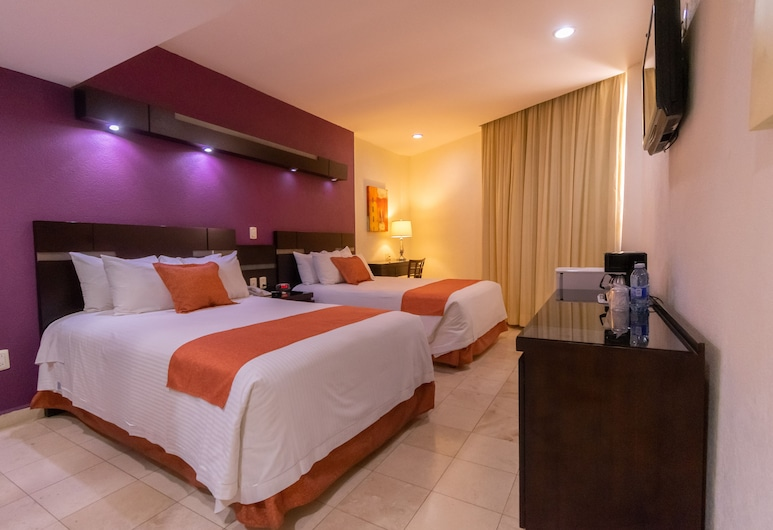 Hotel Poza Rica Centro, Poza Rica, Standard Double, Kamer